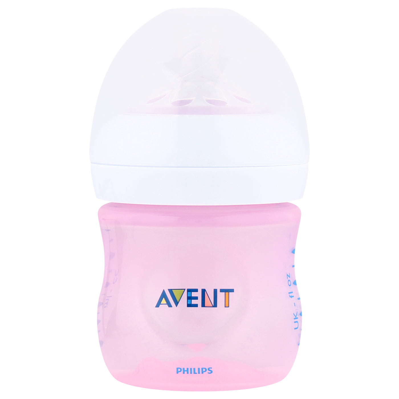 Philips Avent 1 Bottle Natural 125ml Pink 0M+