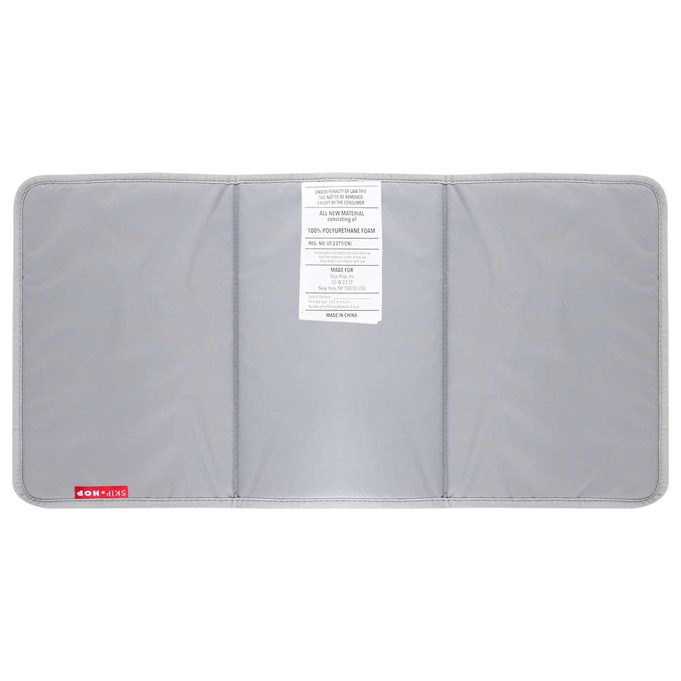 Skiphop Diaper Tote Bag Fit All Access - Platinum/Coral 7