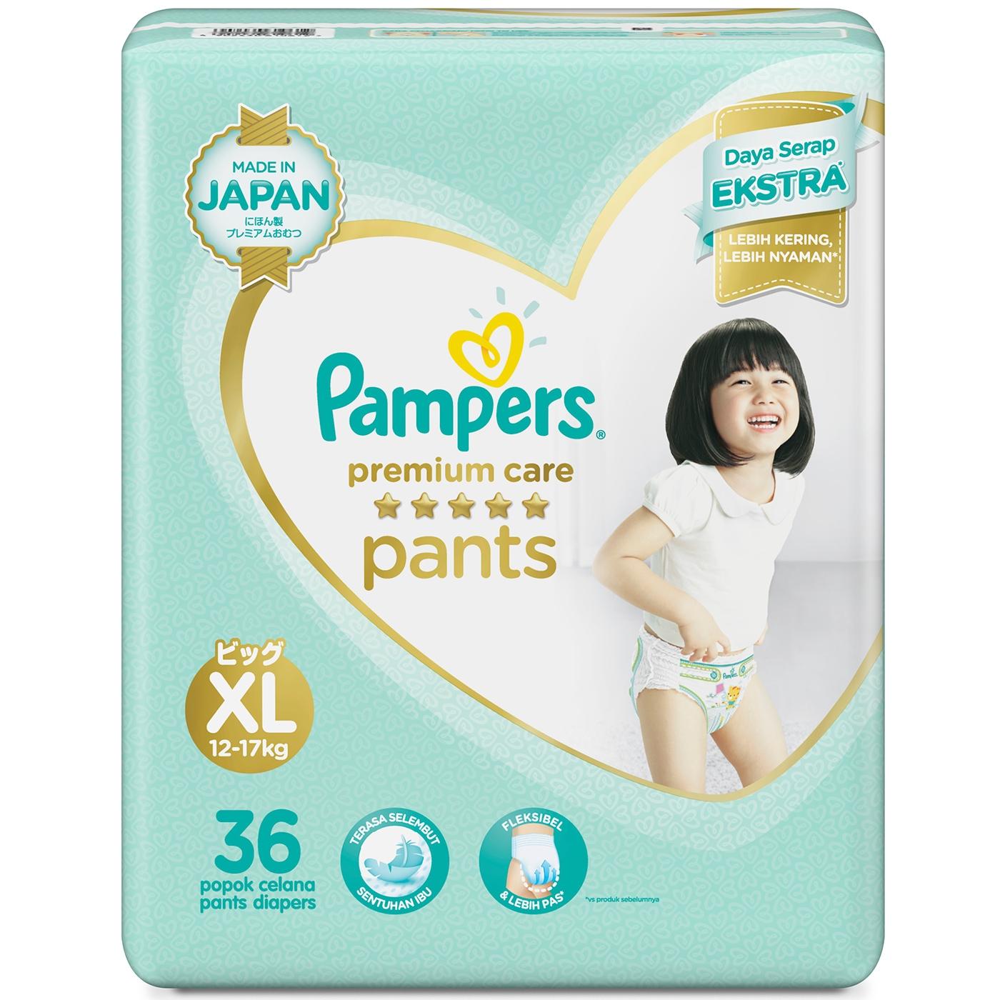 Pampers Popok Celana XL-36 Premium Care 1