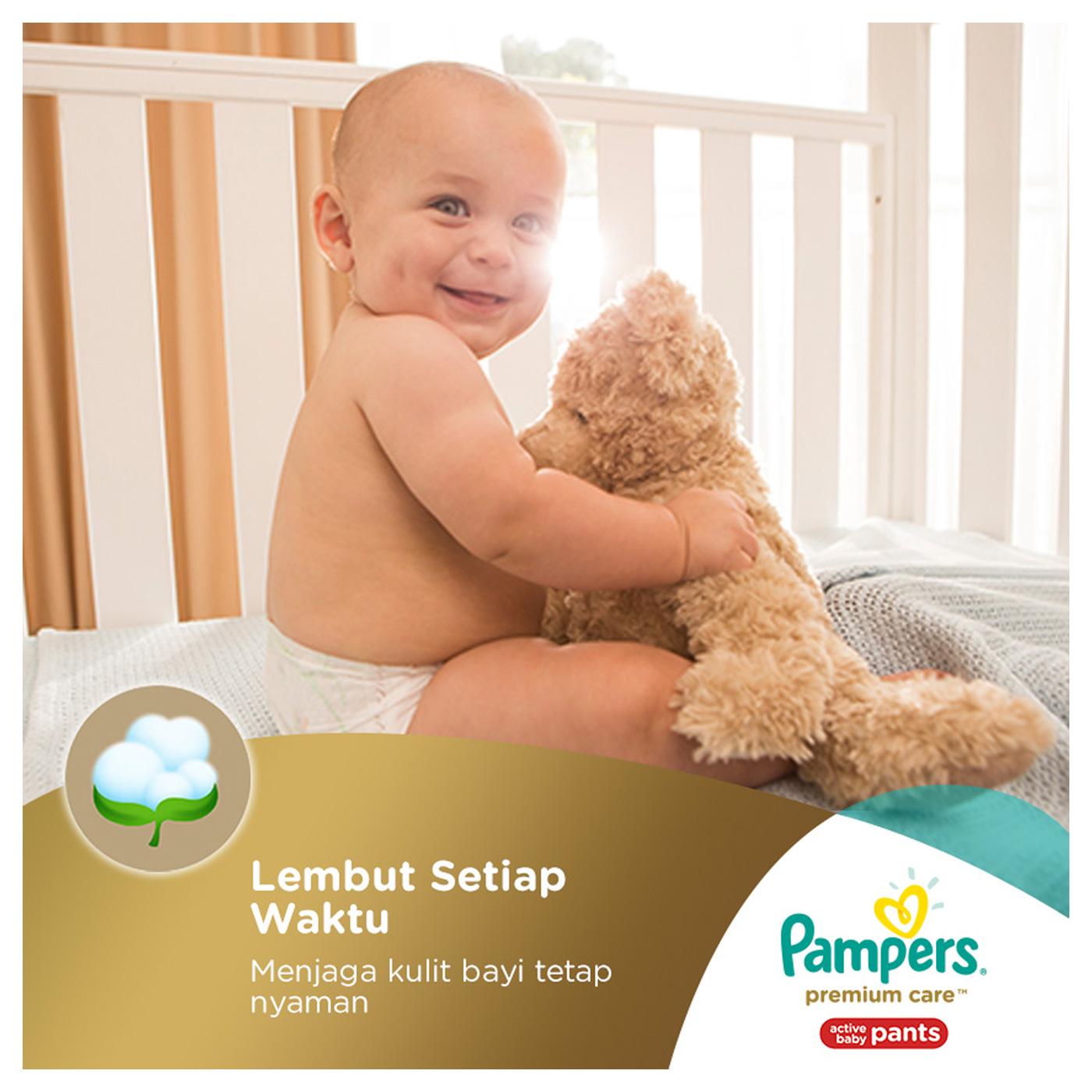 Pampers Popok Celana L-62 Premium Care 3