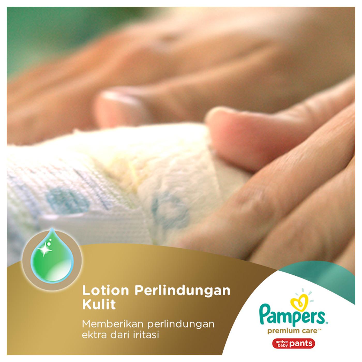 Pampers Popok Celana L-62 Premium Care 4