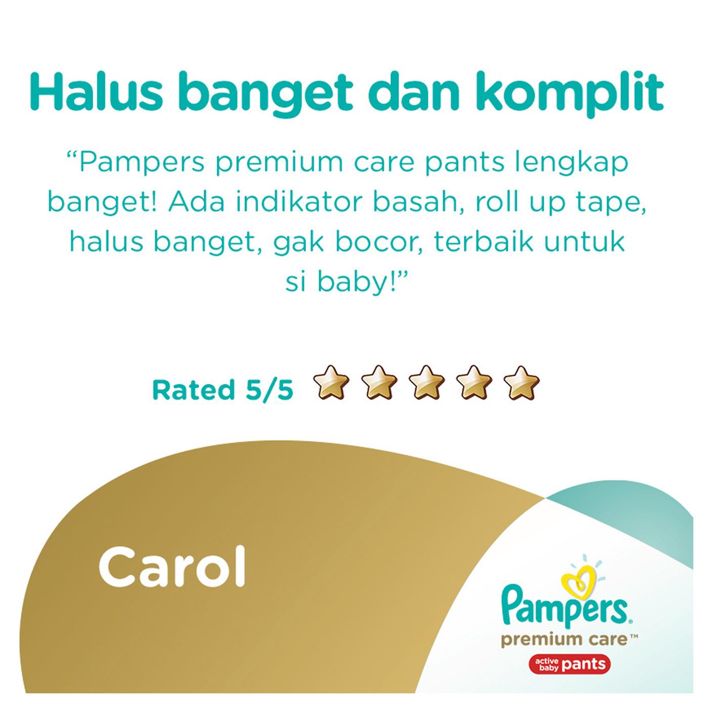 Pampers Popok Celana M-68 Premium Care 7