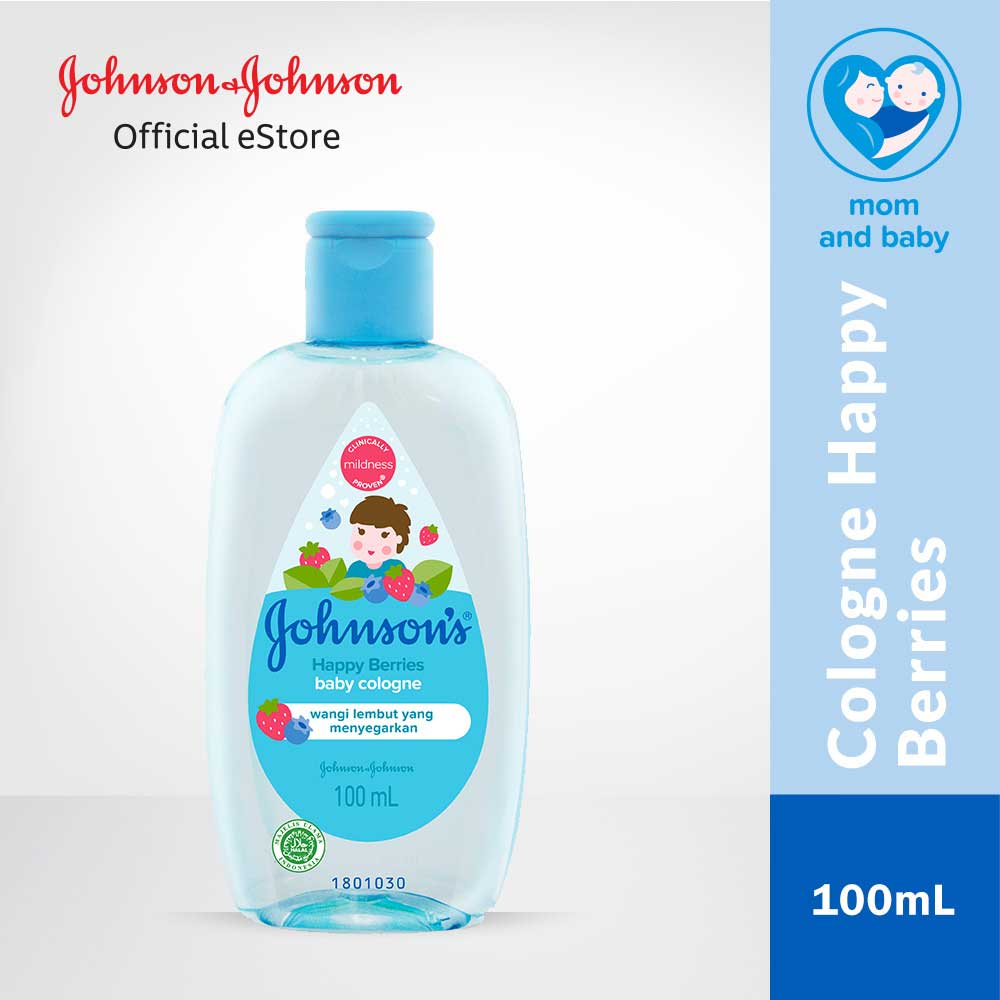 JOHNSON'S Happy Berries Cologne 100ml