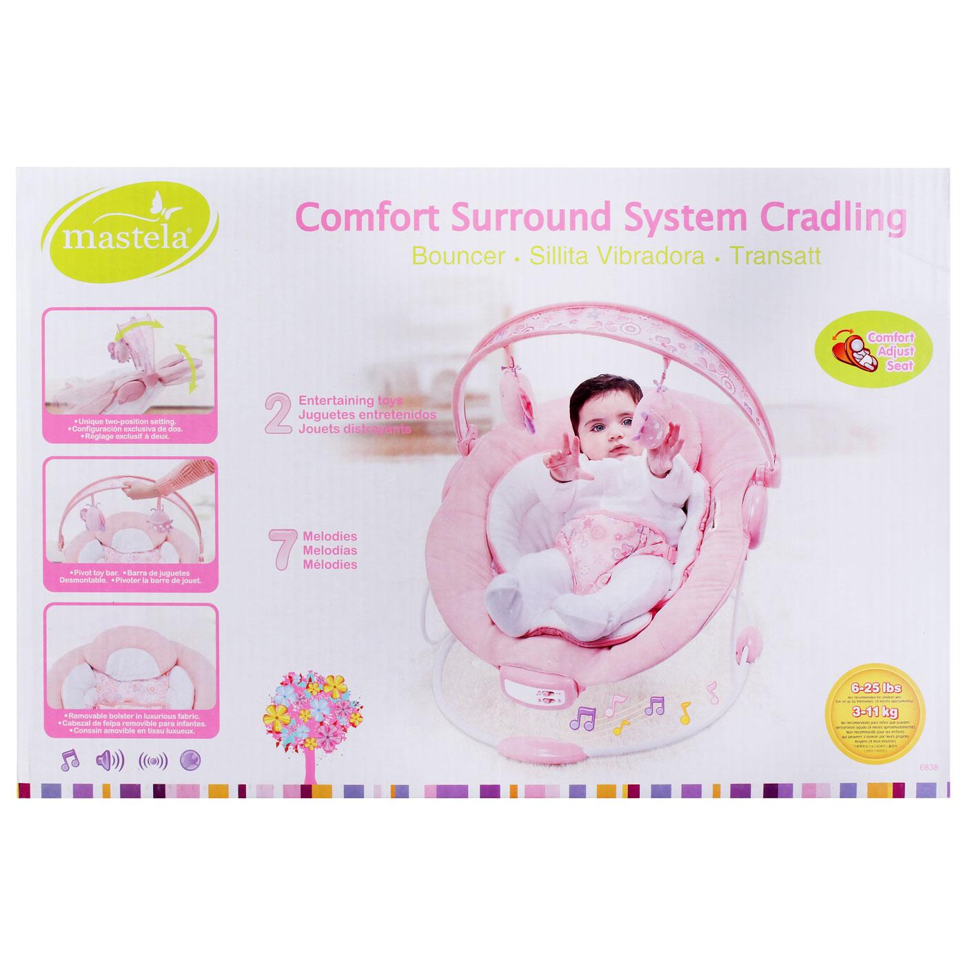 Mastela Comfort Surround System Craddling Pink