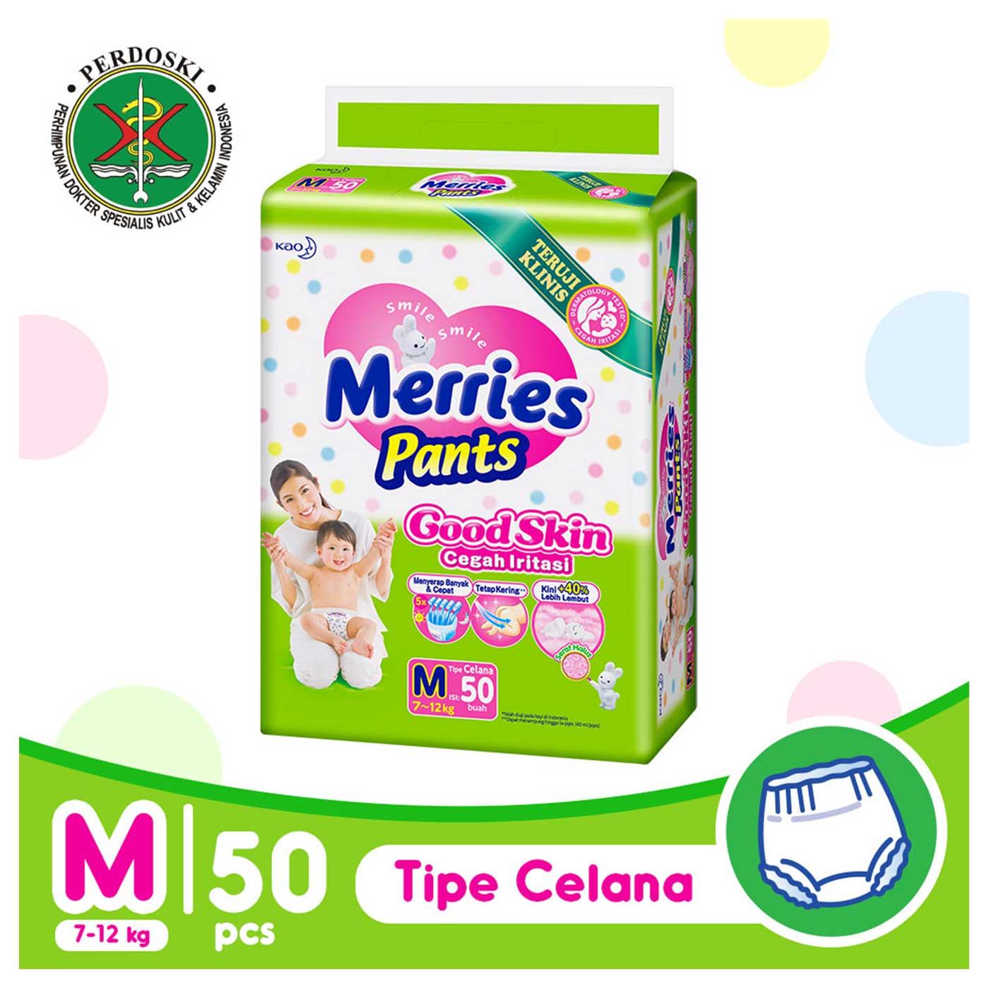 Merries Pants Good Skin M 50