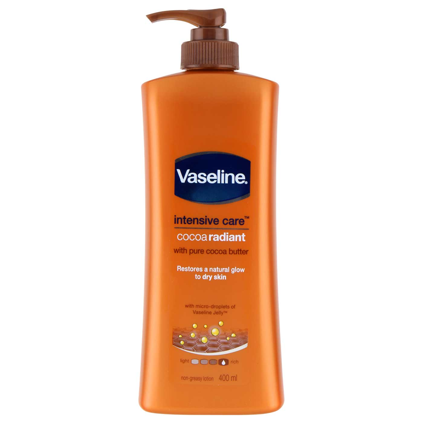 Vaseline Lotion Intensive Care Cocoa glow 400ml