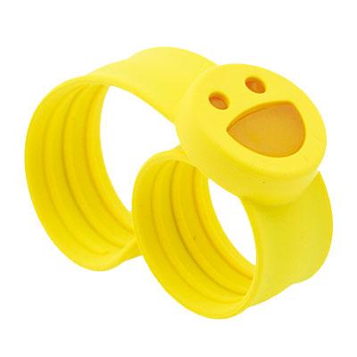 Mosslap Mosquito Repellent Bracelet Smiley Yellow