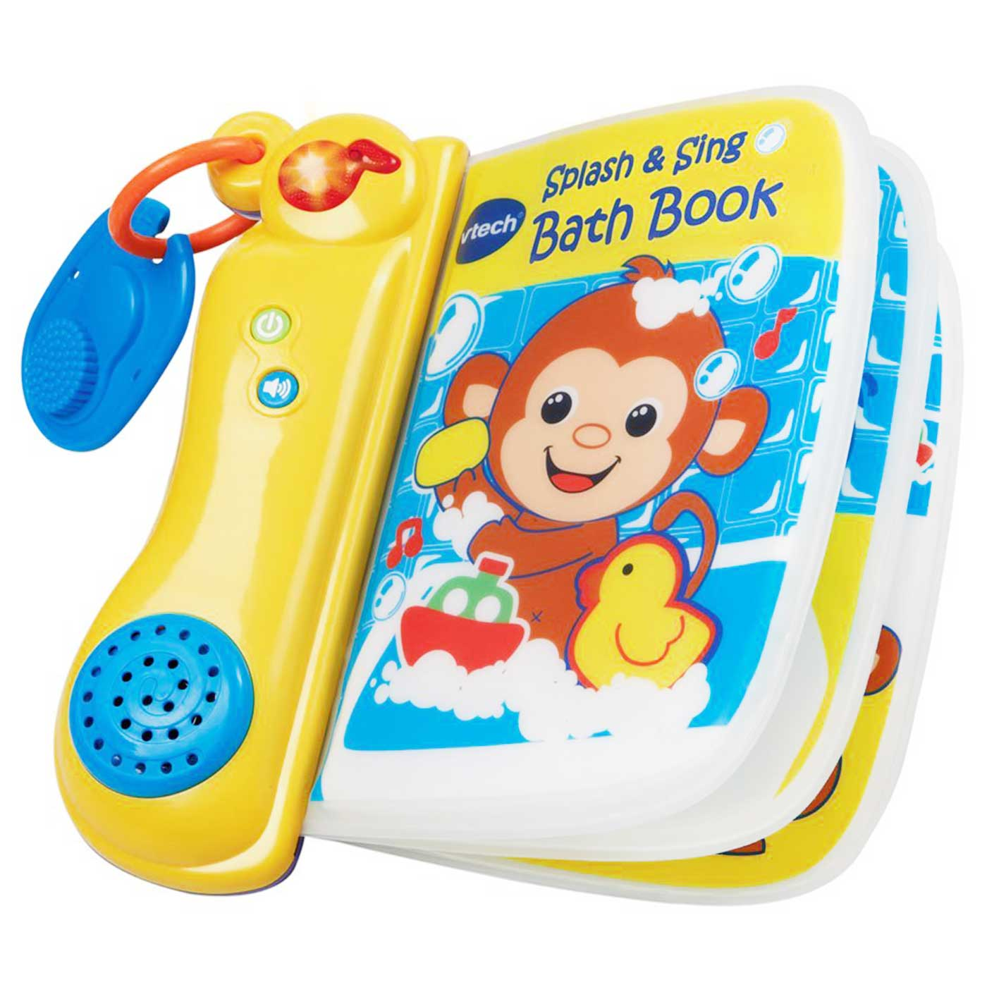 Vtech Bath Toys Splash & Sing Bath Book