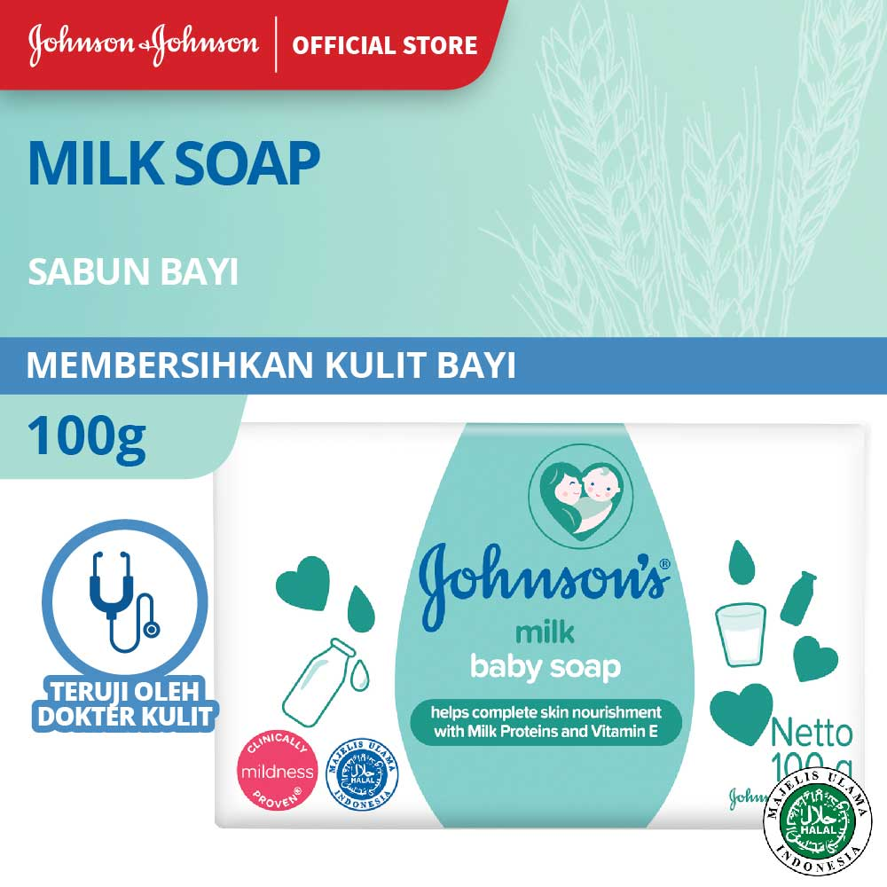 JOHNSON'S Milk Soap 100gr