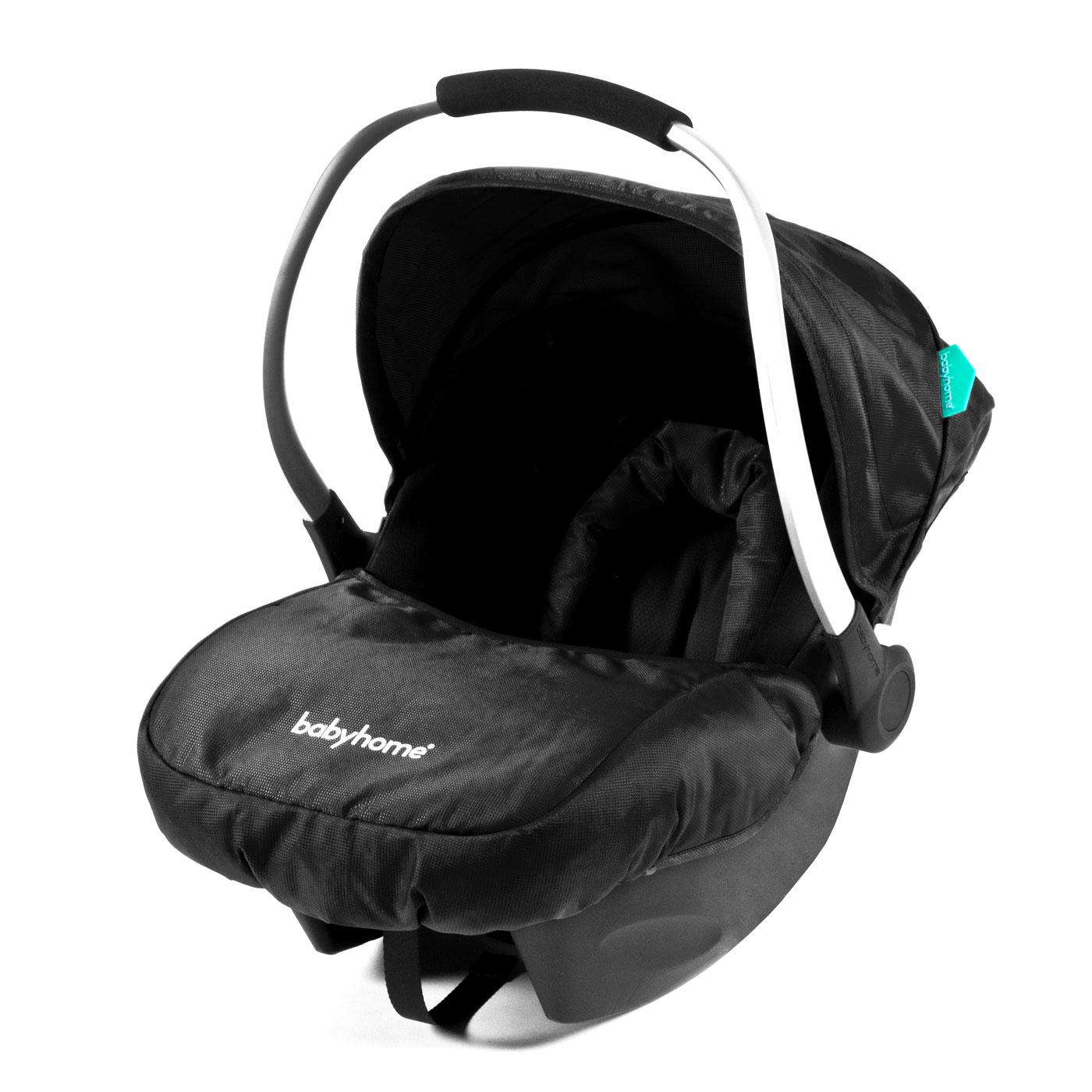 BabyHome Egg0+Car Seat Black