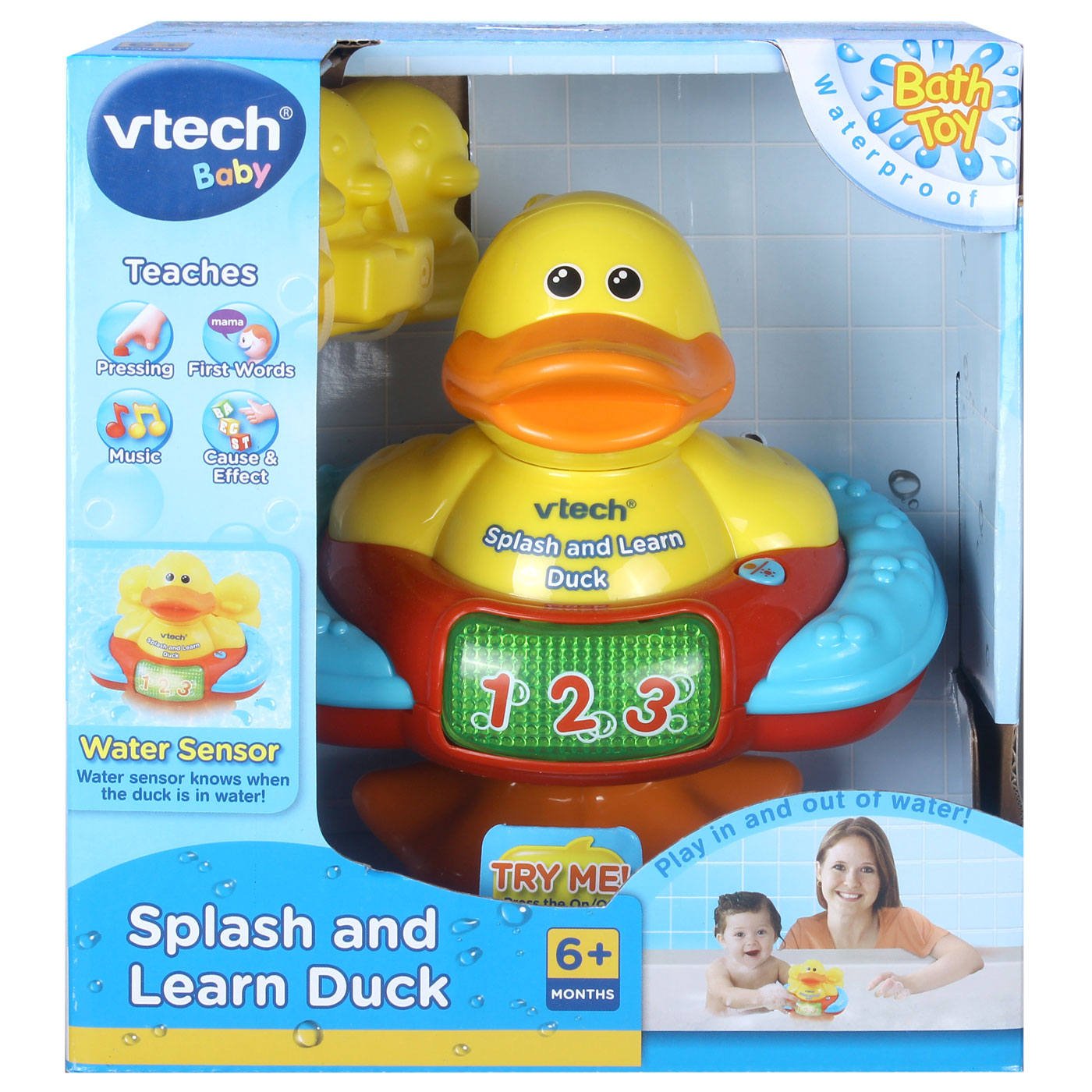 Vtech Bath Toys - Splash and Learn Duck