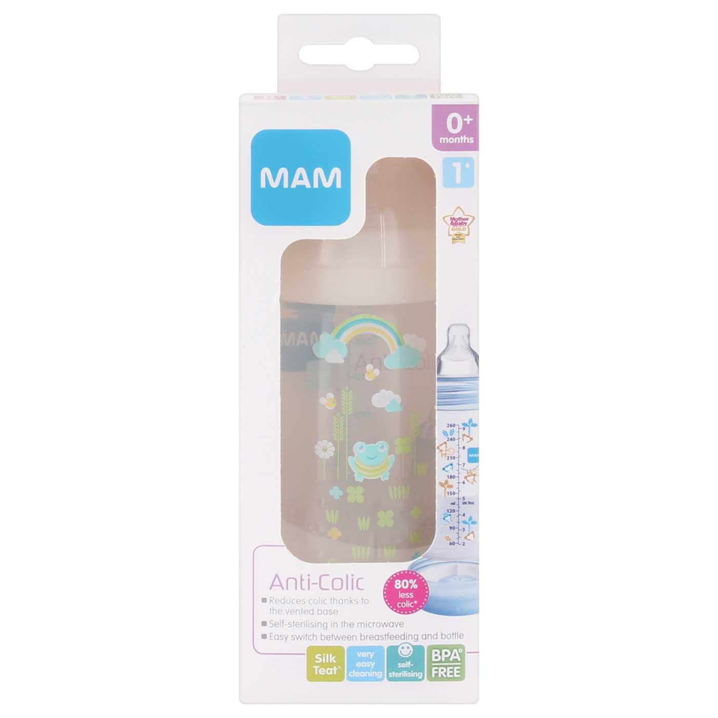 MAM Anti Colic Bottle Ivory 260ml