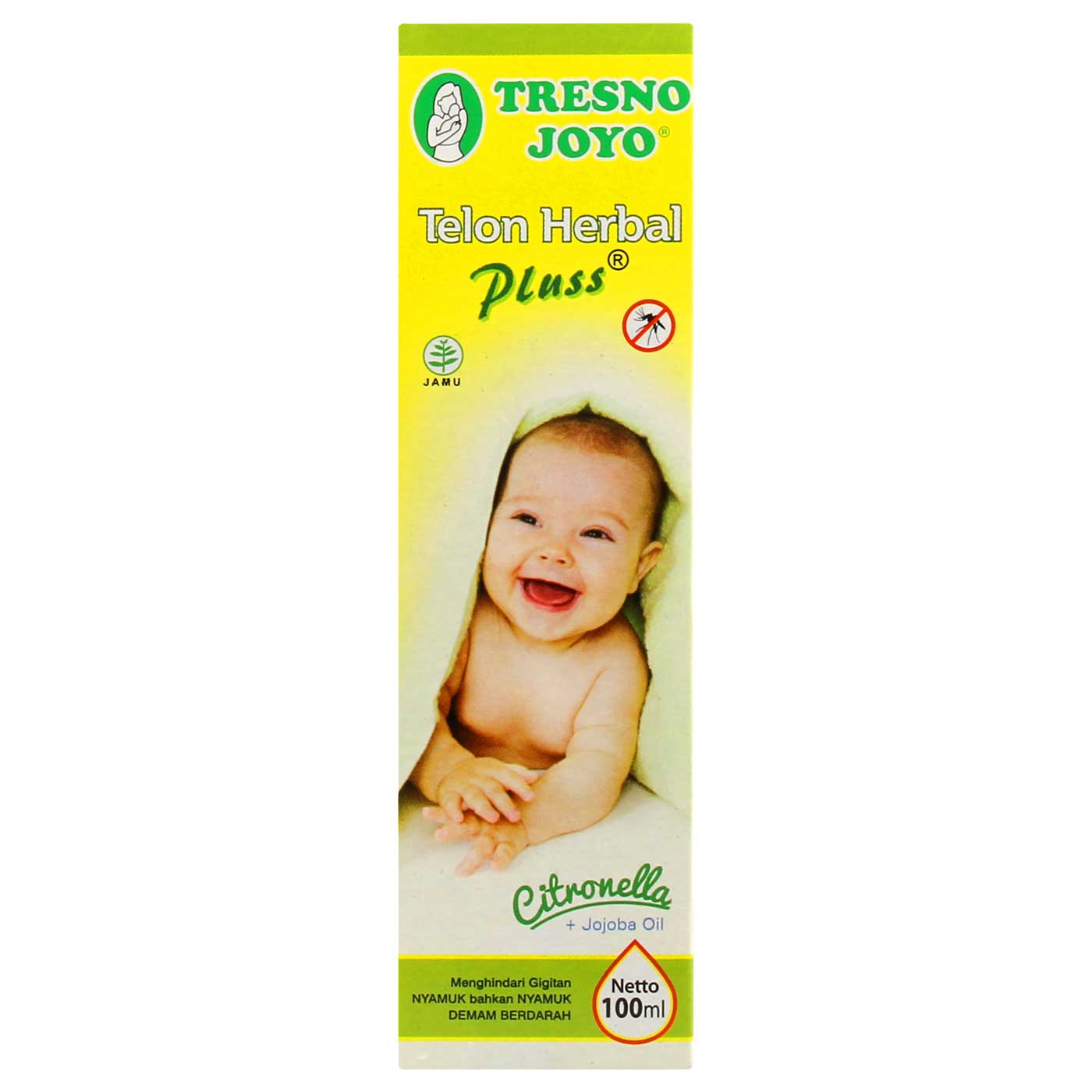 Tresno Joyo Minyak Telon Herbal Plus Citronella 100ml