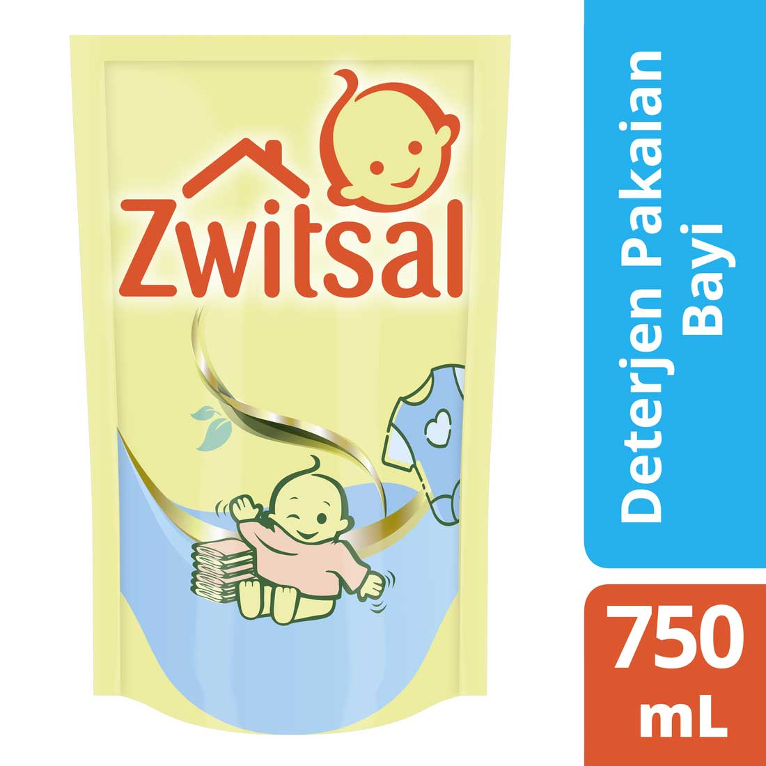 Zwitsal Baby Fabric Detergent 750ml
