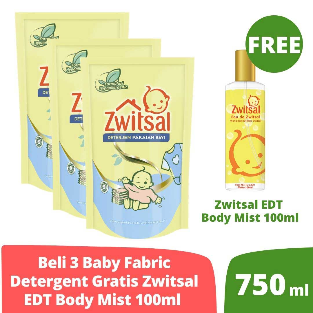 Zwitsal Baby Fabric Detergent 750ml