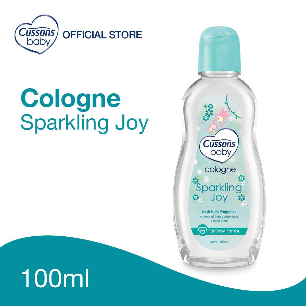 Cussons Baby Cologne Sparkling Joy 100ml