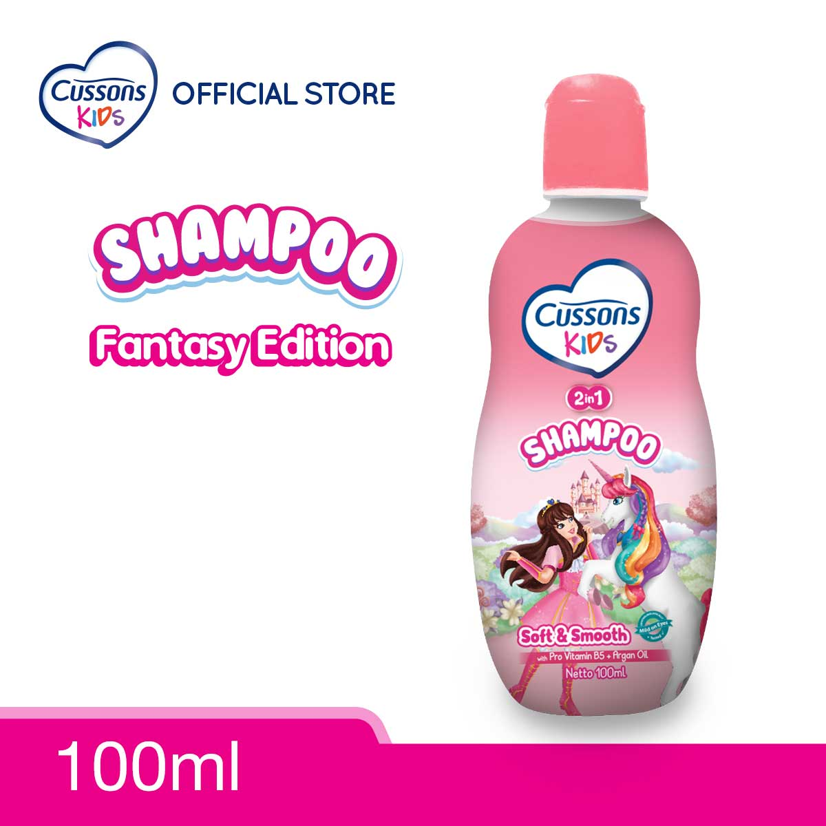 Cussons Kids Shampoo Unicorn Soft & Smooth Shampoo 100ml