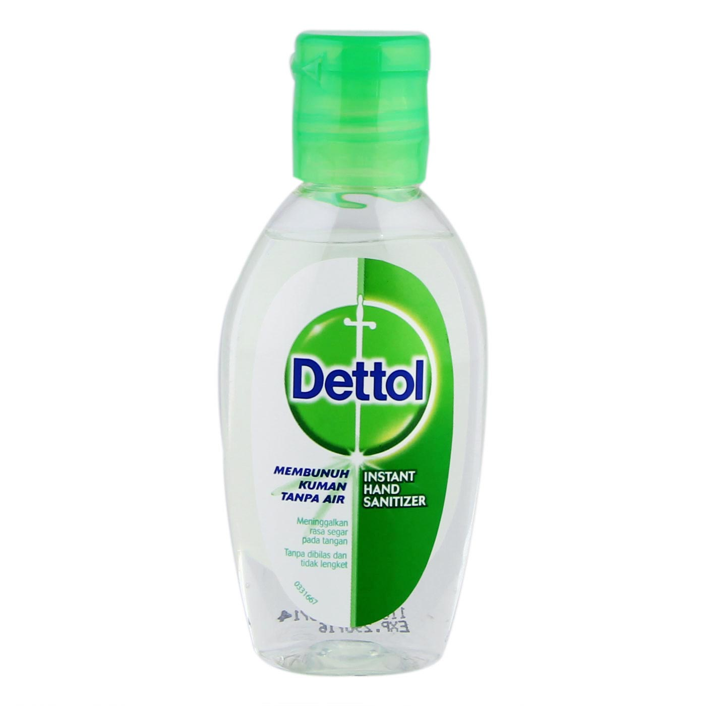 Dettol Hand Sanitizer Reguler (50mL)