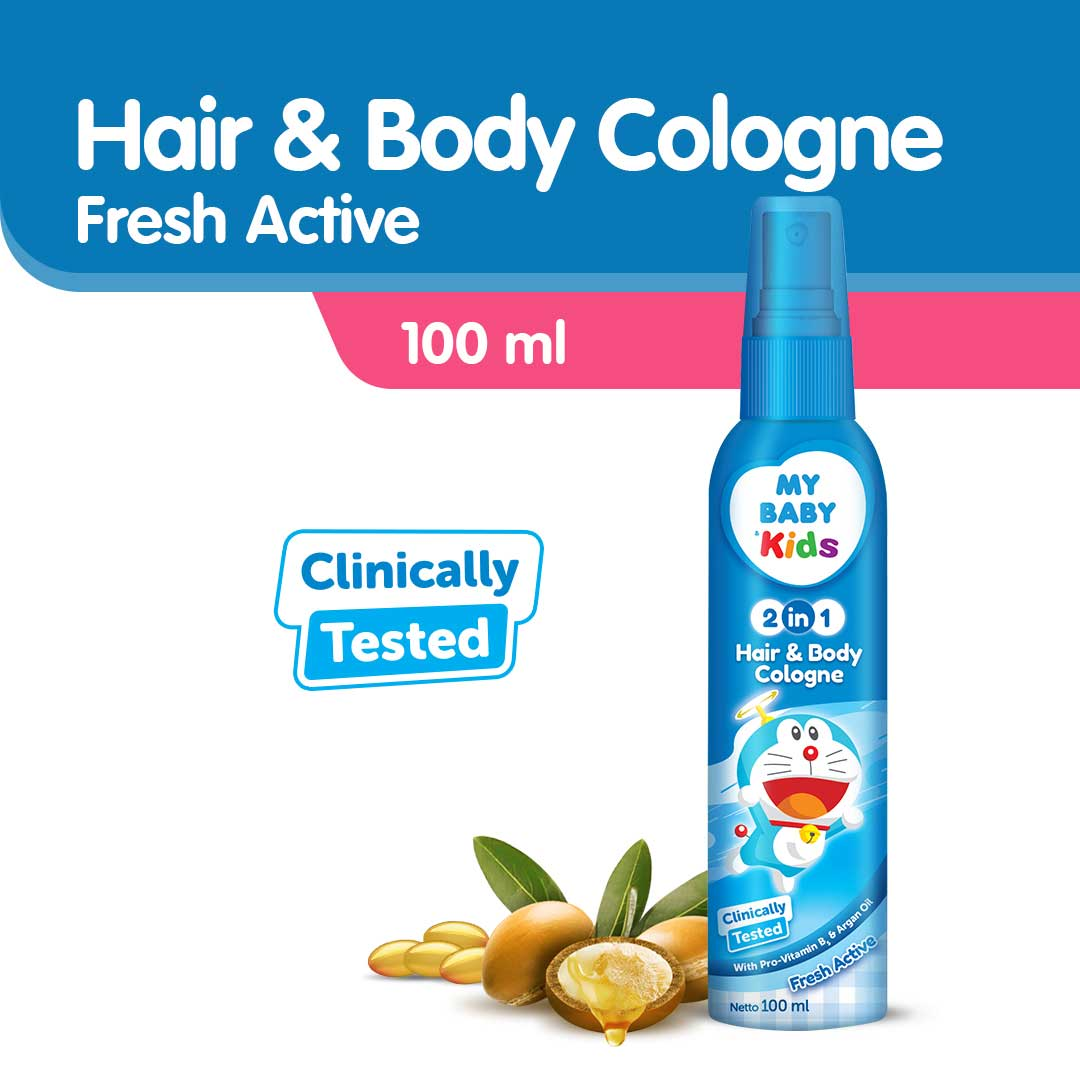 My Baby Kids 2IN1 Cologne 100ML-Blue
