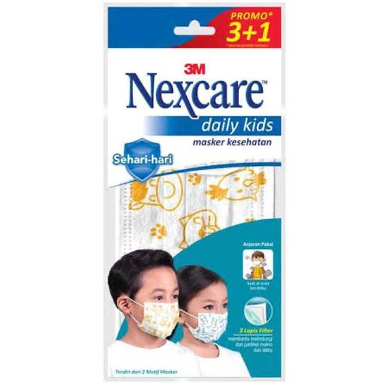 3M Nexcare Earloop Daily Kids Masker 3pcs