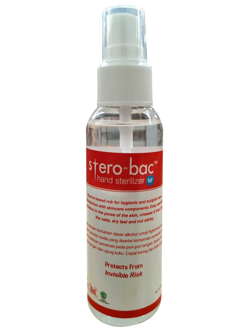 Sterobac Sanitizer 60ml