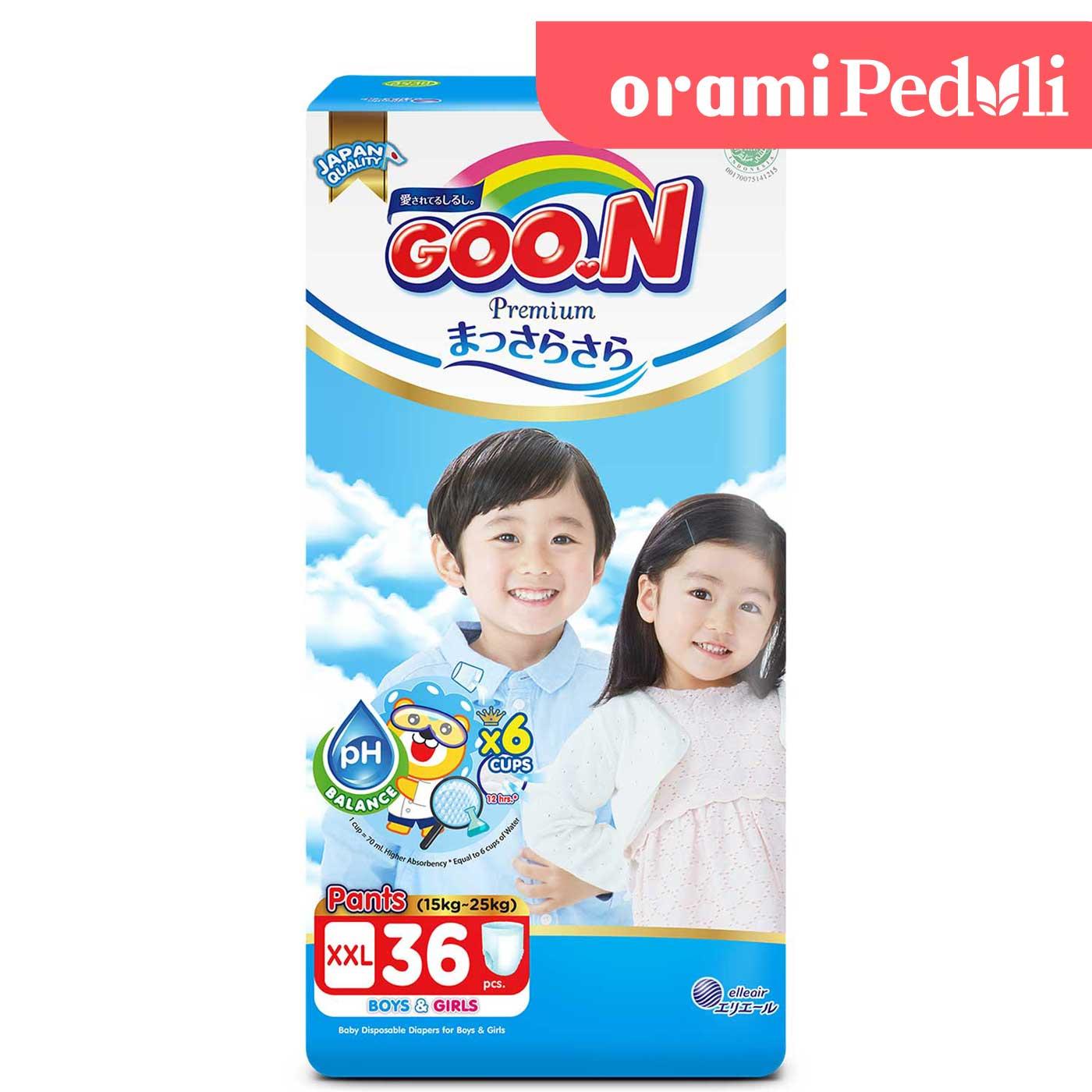 Goo.N Premium Pants Massara Sara Super Jumbo XXL 36