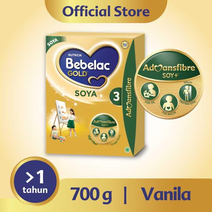 Bebelac Gold 3 Soya Vanilla 700g