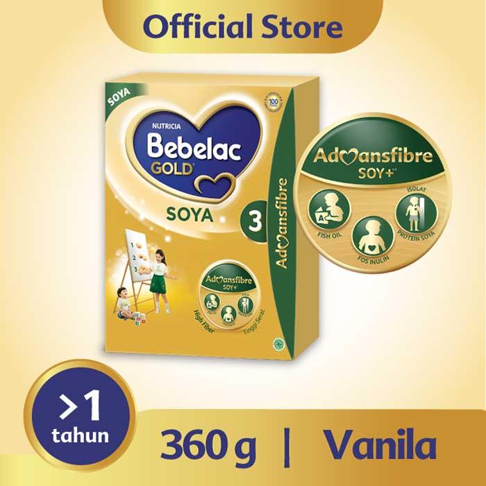 Bebelac Gold 3 Soya Vanilla 360g
