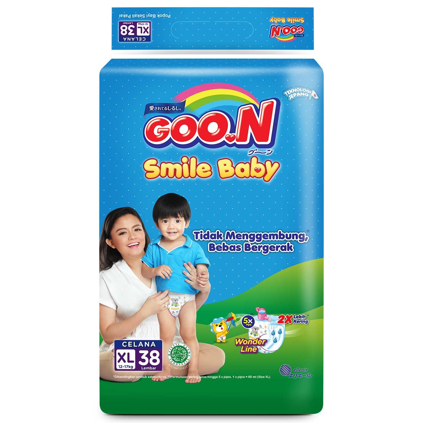 Goo.N Smile Baby Pants XL38 2