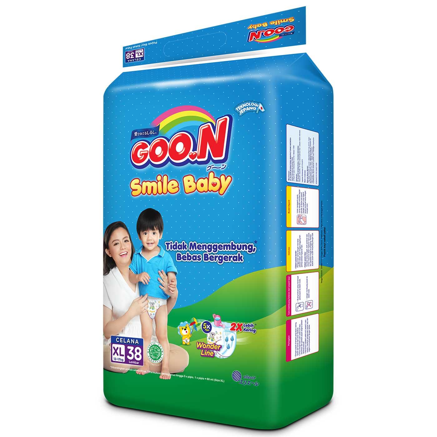 Goo.N Smile Baby Pants XL38 5