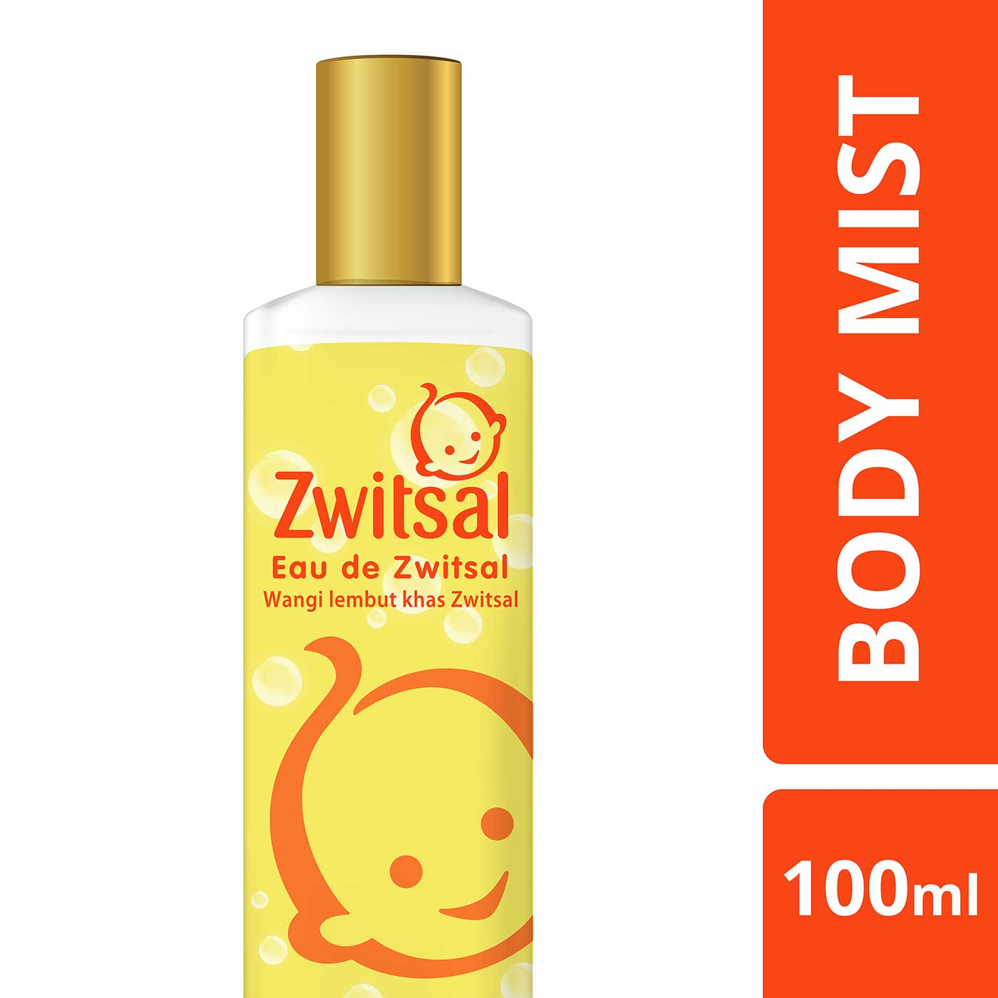 Zwitsal Eau De Toilette Body Mist 100ml