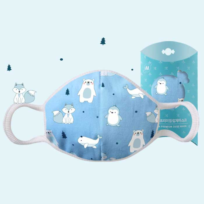 Down to Earth Korean Premium Kids Mask No 4 Motif Frozen Size S