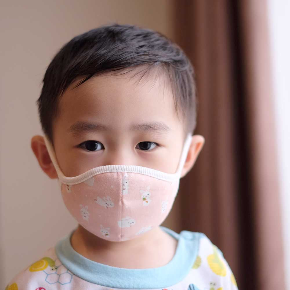 Down to Earth Korean Premium Kids Mask No 9 Motif Bunny Size S 2