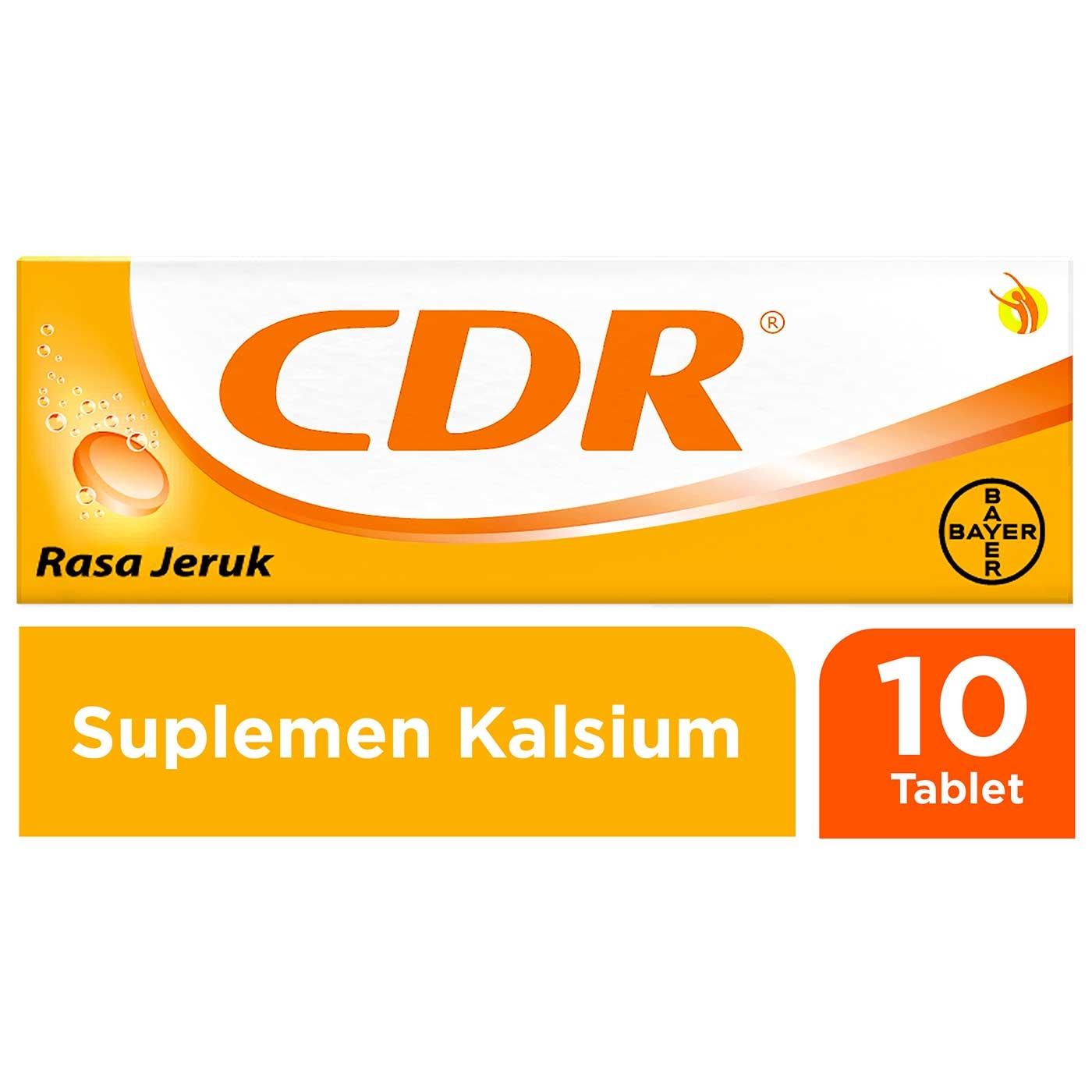 CDR SWEET ORANGE TAB EFF 10