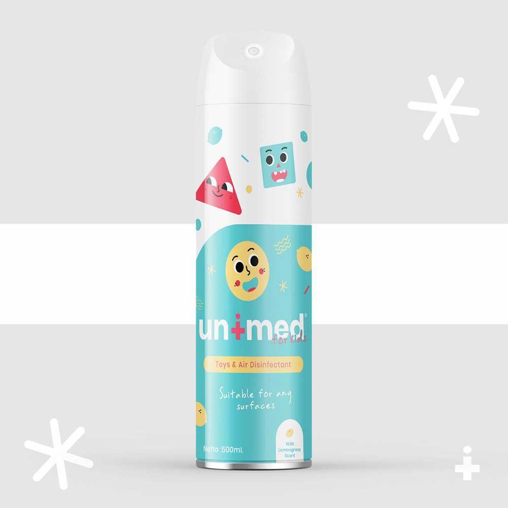 Unimedkids Toys And Air Disinfectant 500ml - Pembersih Udara Natural Anti Virus