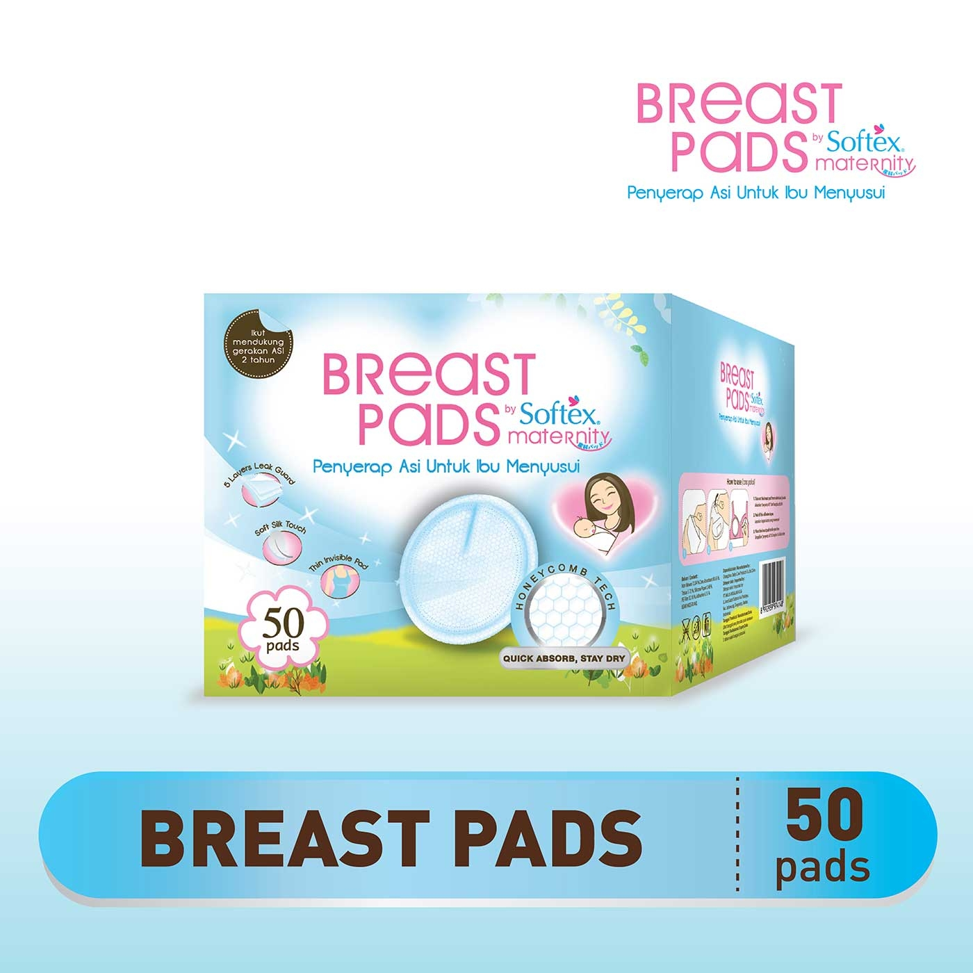 Breast Pads by Softex Maternity