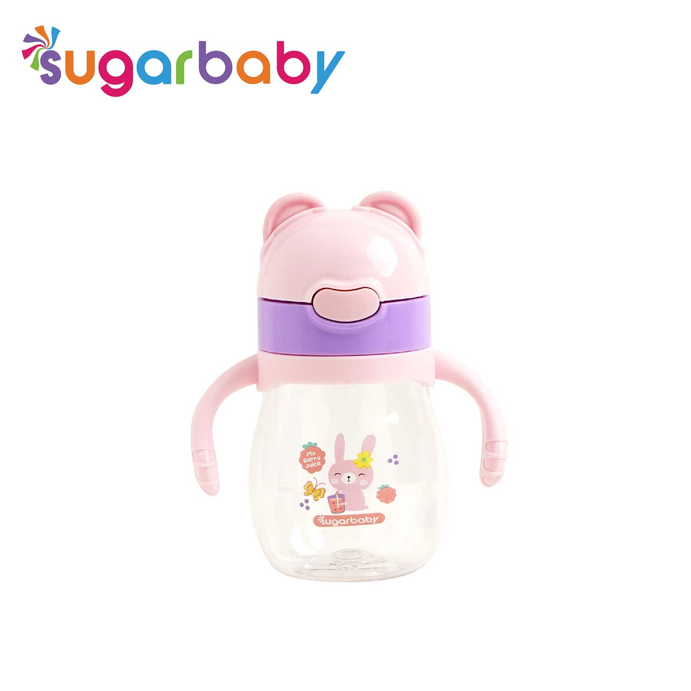 Sugar Baby Tritan Sippy Cup 270ML - Pink