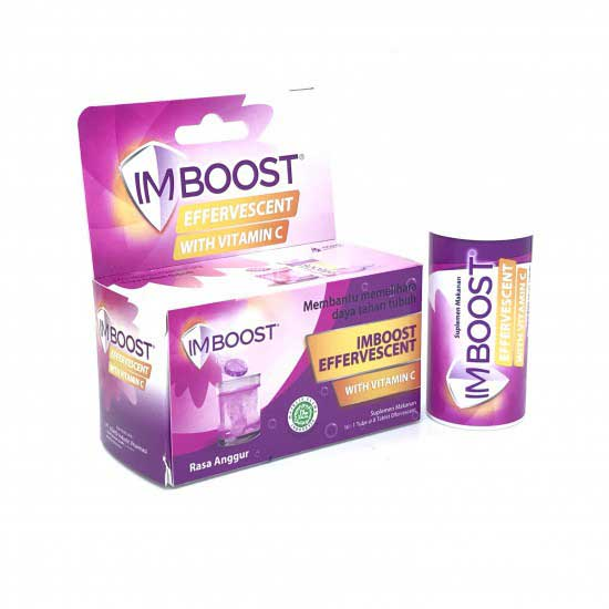 Imboost Effervescent Grape 8's