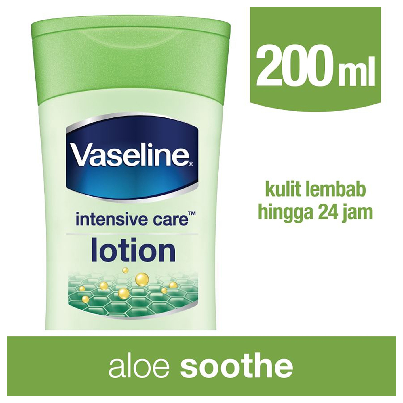 Vaseline Lotion Intensive Care Aloe Soothe 200ml