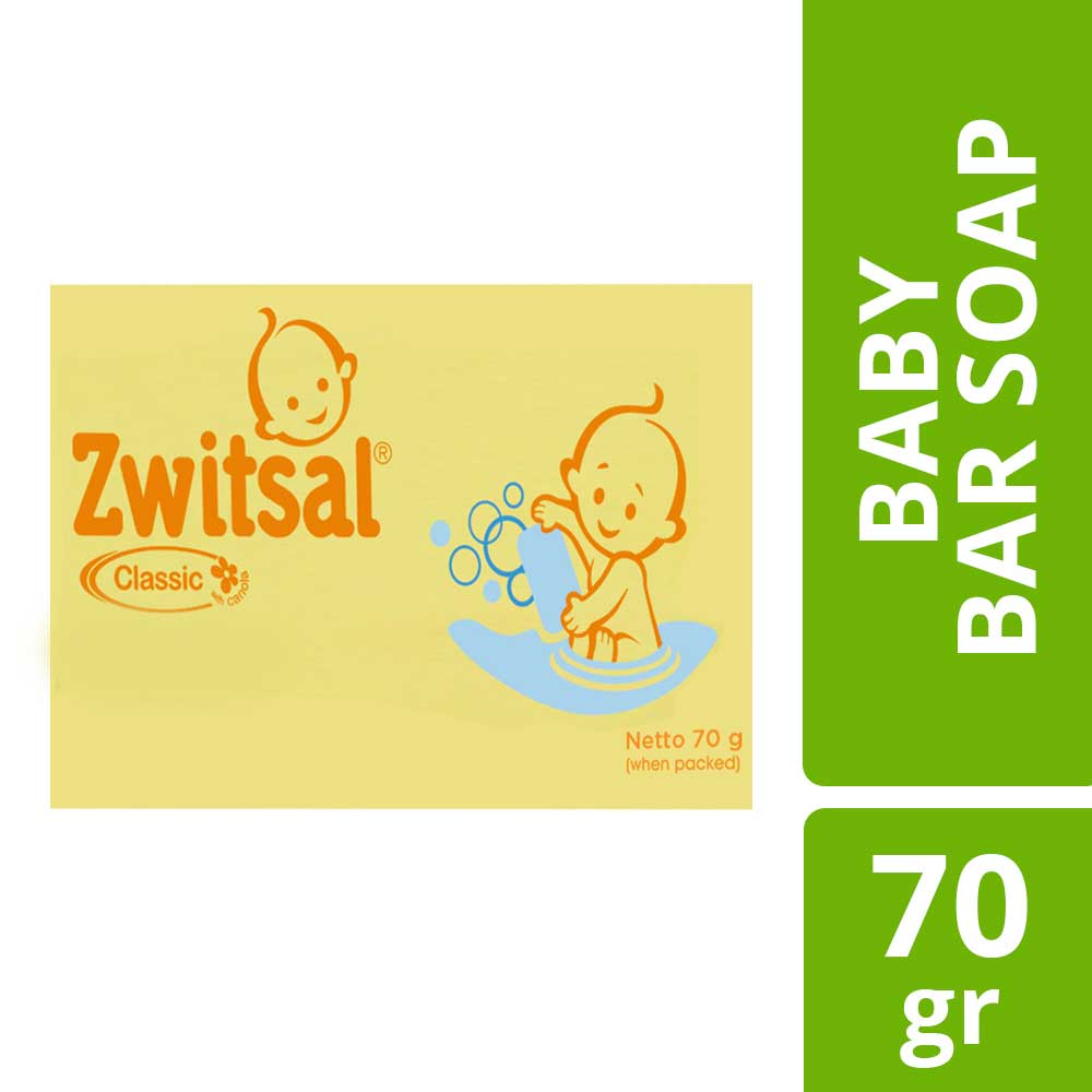 Zwitsal Baby Bar Soap Classic 70gr