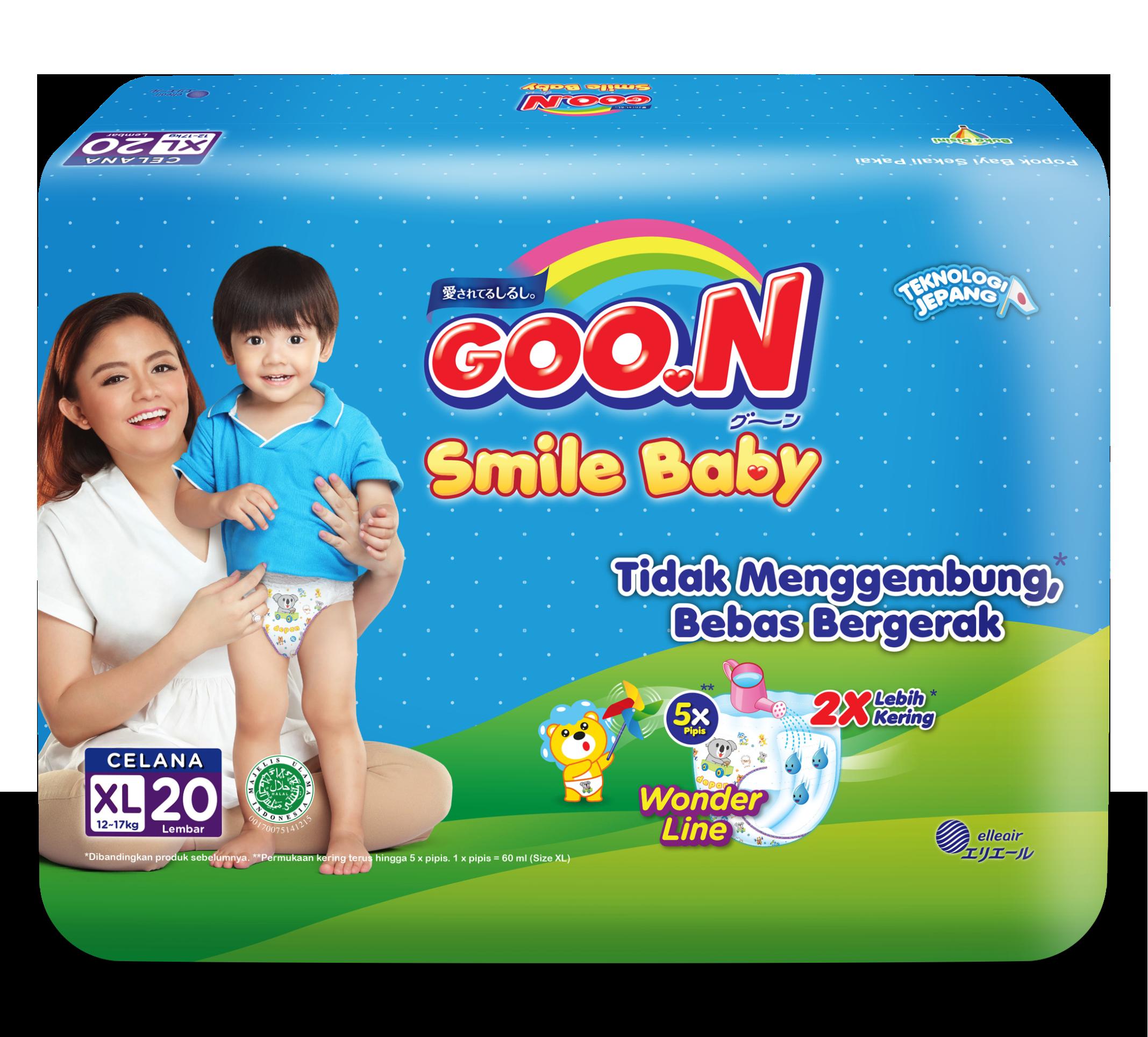 Goo.N Smile Baby Pants XL20 1