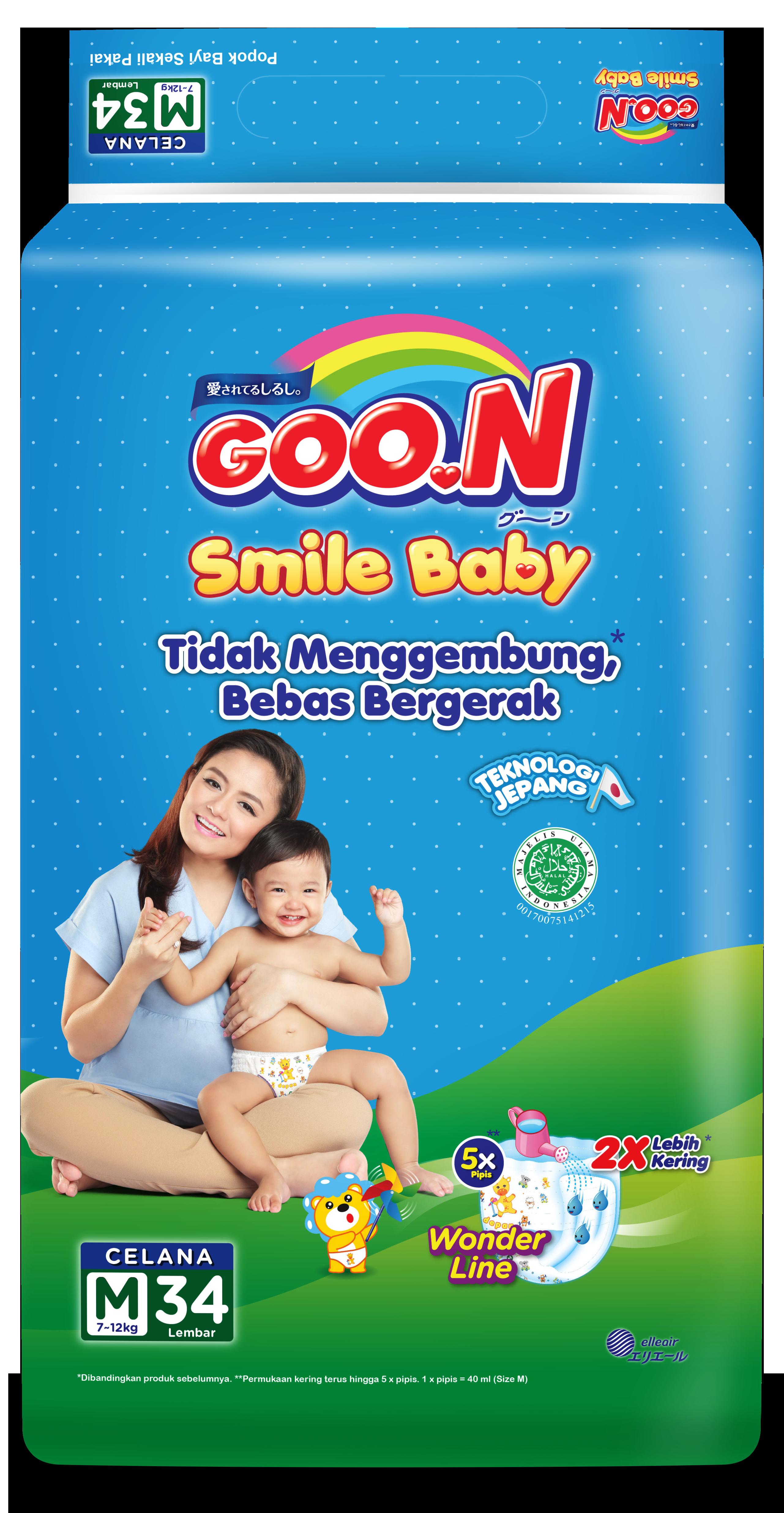 Goo.N Smile Baby Pants M34