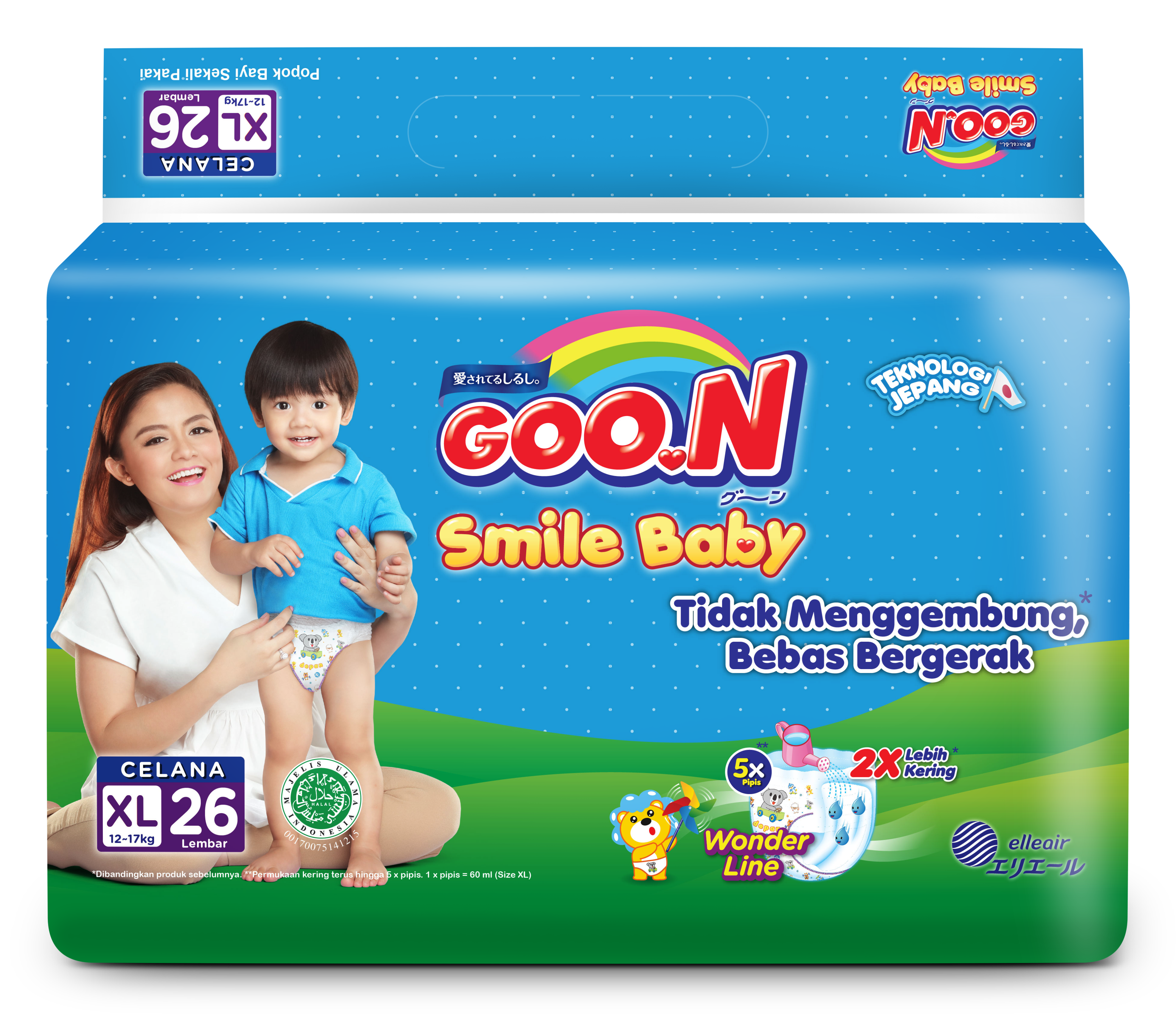 Goo.N Smile Baby Pants XL26