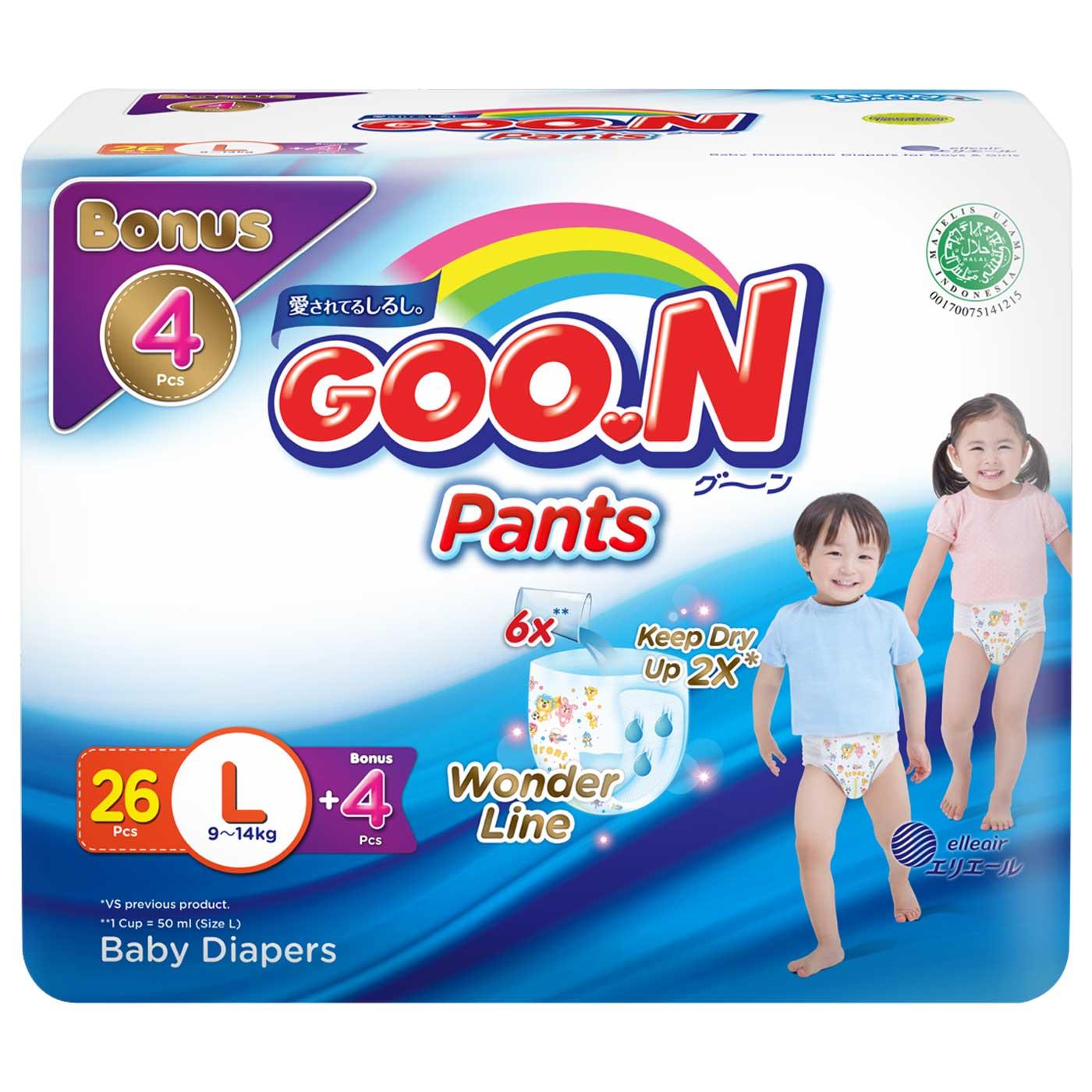 Goo.N Pants L 26 + 4