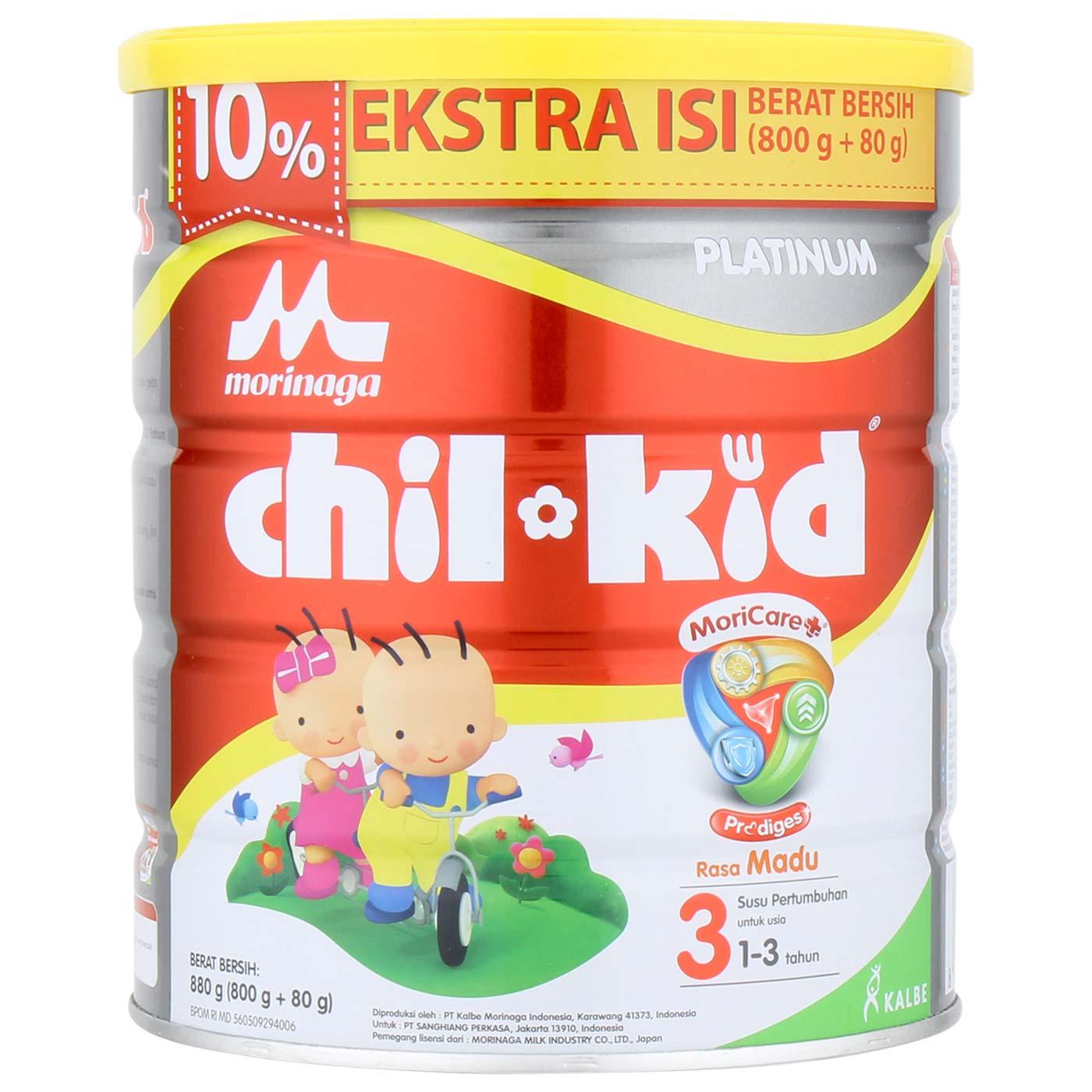 Morinaga Chil Kid Platinum Moricare+ Madu 800gr 1