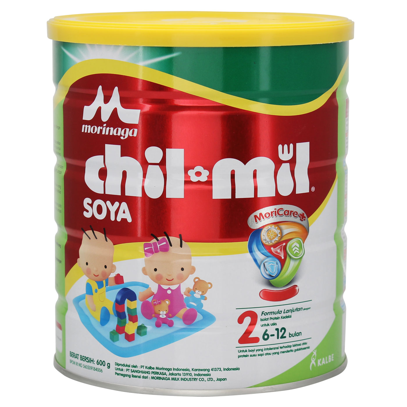 Morinaga Chil Mil Soya 600gr Tin 1