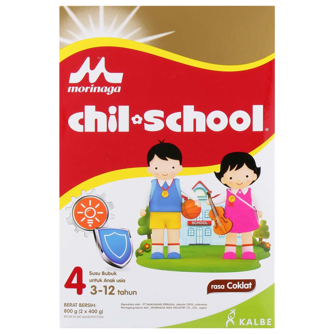 Morinaga Chil School Coklat 800gr Box