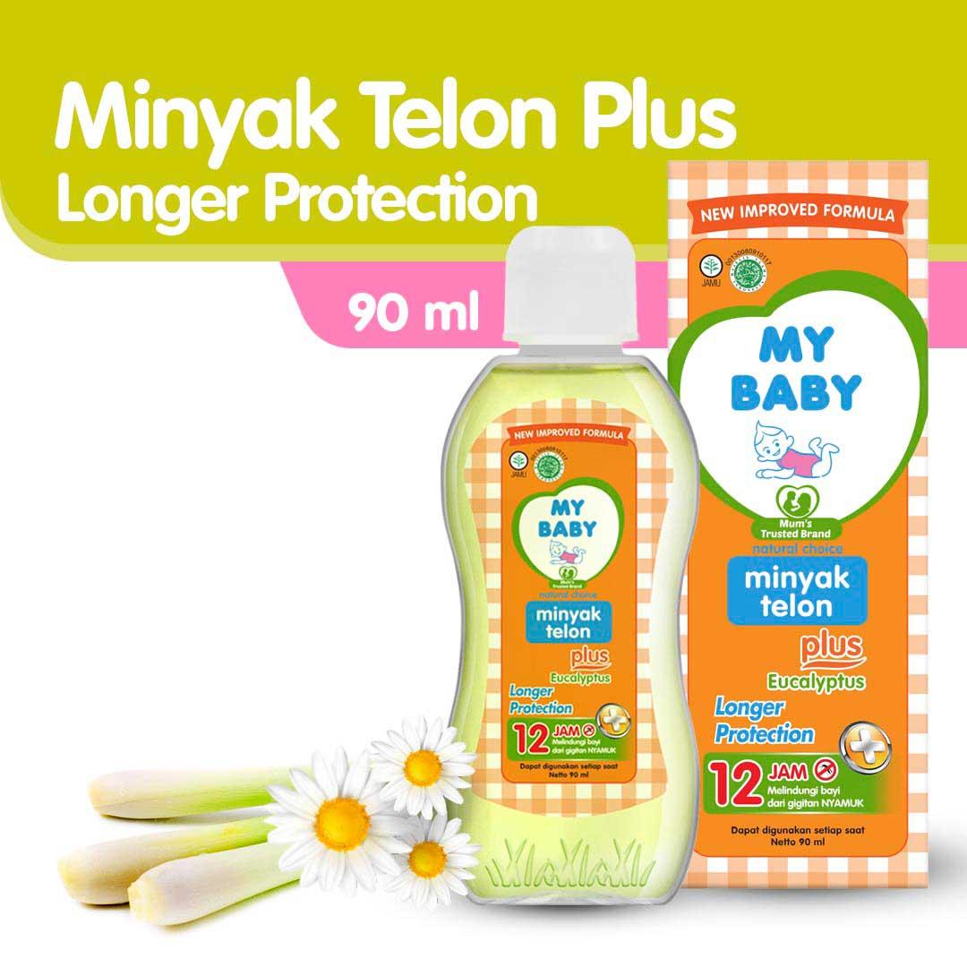 My Baby Minyak Telon Plus Longer Protection 90ml