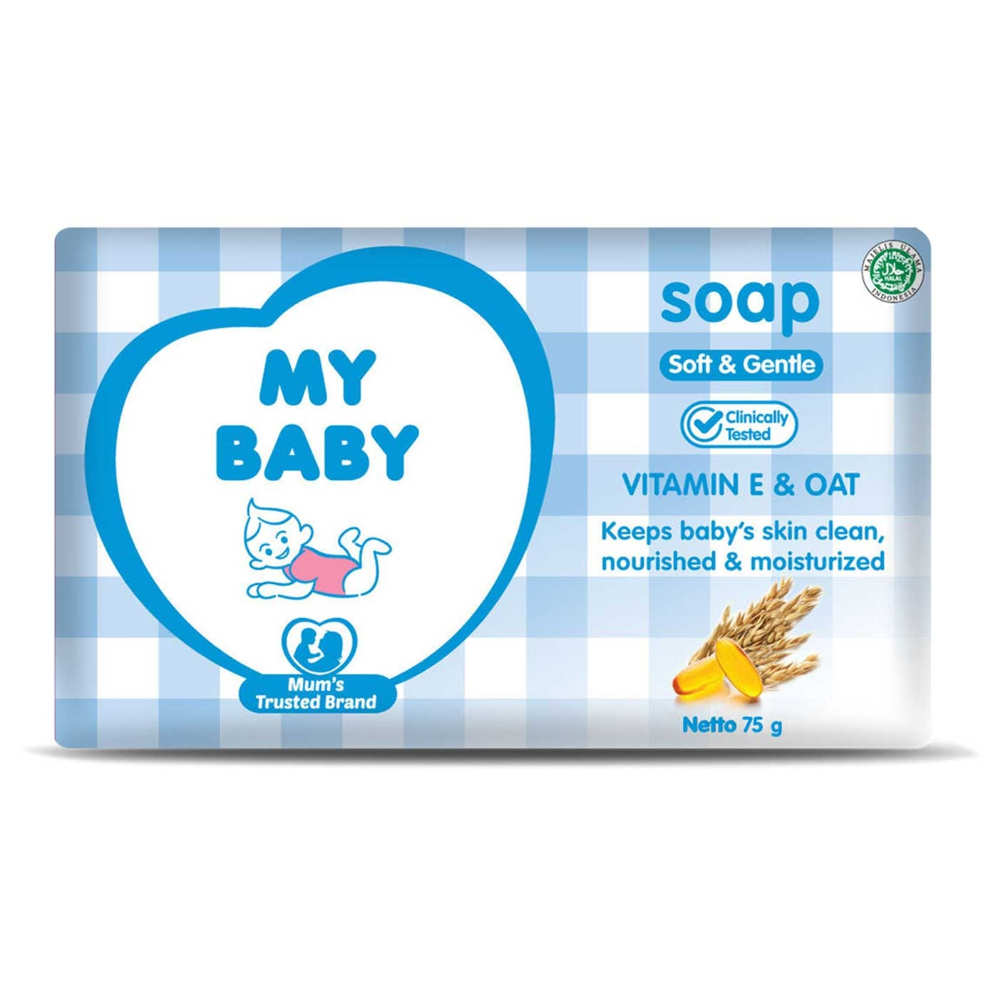 My  Baby Soap Soft & Gentle 75gr